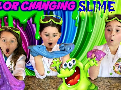 How to Make COLOR CHANGING SLIME! | Heat Sensitive Slime