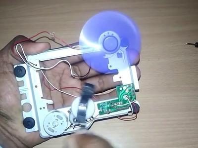 HOW TO MAKE EASIEST MINI GENERATOR(HAND-POWERED) DIY -RUN'S LED'S,DC MOTOR,LASHLIGHT