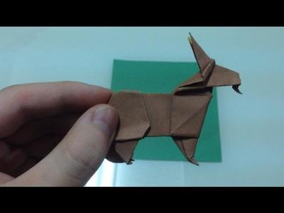 Origami goat tutorial 摺紙山羊教學