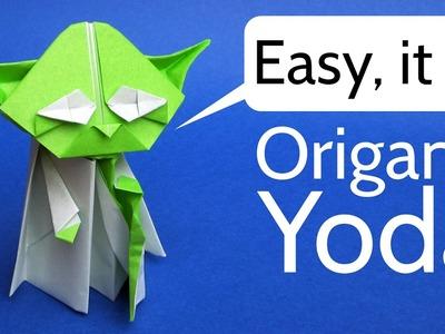 Origami Yoda Easy Tutorial - Star Wars Origami