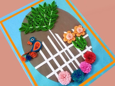 Paper Quilling  Special Designs For Wall Decoration | Paper Quilling Art