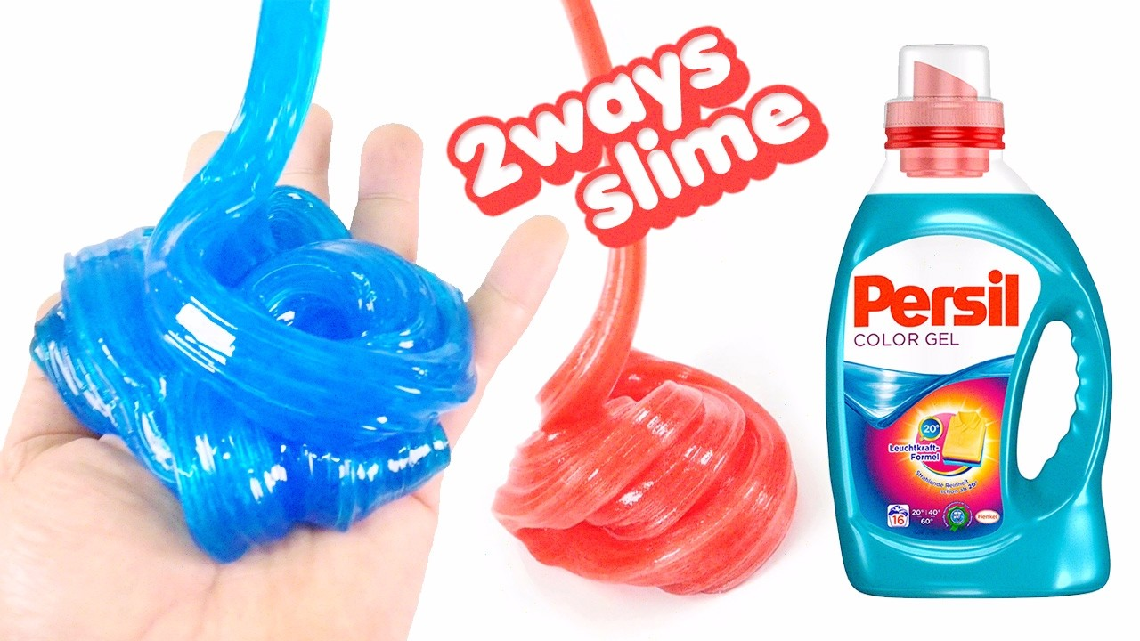 Persil Slime Jelly Monster ! 2ways to Make a Slime With Persil