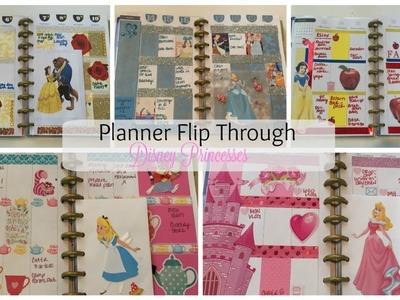 PLANNER FLIP THROUGH   Disney Princesses
