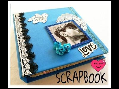 SCRAPBOOK || LOVE THEME || BIRTHDAY GIFT