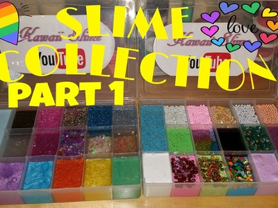 SLIME COLLECTION 2017 PART 1 of 2 ~AMAZING~BEAUTIFUL~AND ASMR OVERLOAD~