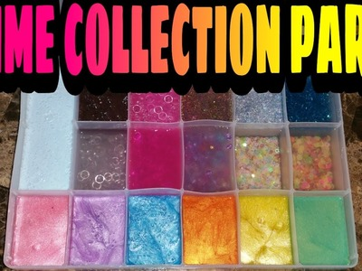 SLIME COLLECTION 2017 PART 2 of 2 ~AMAZING~BEAUTIFUL~AND ASMR OVERLOAD~ |KAWAII SLIME|