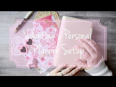 Valentine's Personal Planner Setup