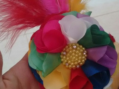 Arranjo para carnaval - PAP - DIY