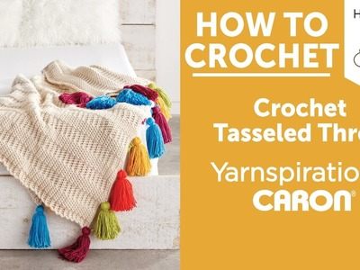 Colorful Tassel ThrowHow to Crochet a Blanket: Tasseled Throw