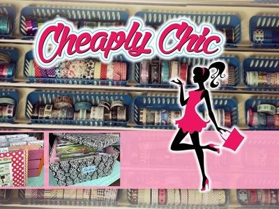 Craft Room Tour Series - 2017 - Washi, Ephemera and Sticker Storage!