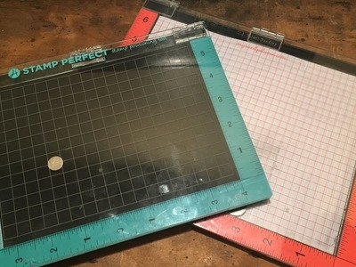 Craft sheets in your MISTI & Stamp Perfect or other Stamping Press Platform by Hedgehog Hollow