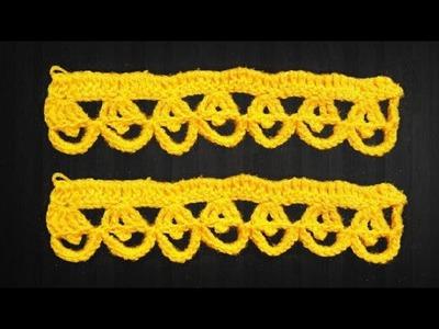 Crochet Lace Tutorial | Hindi