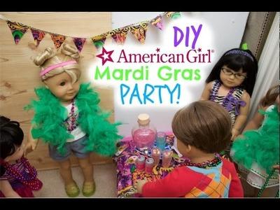 DIY American Girl Mardi Gras Party!