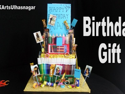 DIY Birthday Gift Idea for Kids | Stationery hamper | JK Arts 1184