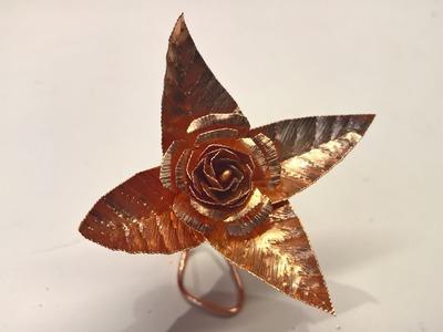 Diy Copper Rose | How To Make a Copper Rose