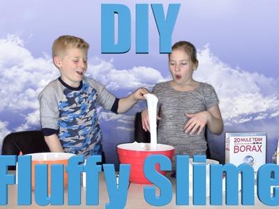 DIY Fluffy Slime | ZipZo 12 | The Arrow Faction