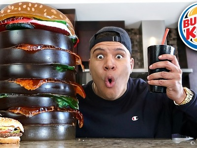 DIY GIANT GUMMY BURGER KING! (200+ LBS WHOPPER)