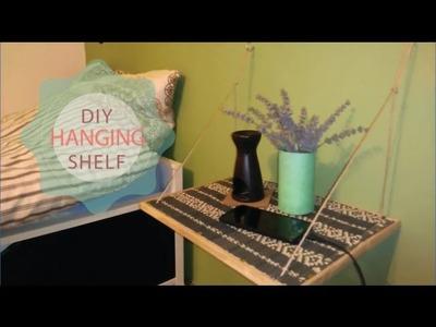 DIY | Hanging Rope Wall Shelf | Furniture & Interior Design | Tutorial