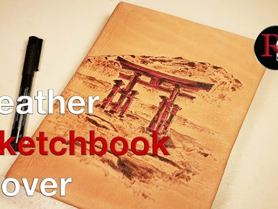 DIY - Making A Leather Sketchbook Cover With Pyrography