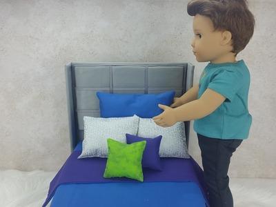 DIY Mattress and Bedding for AG Boy Doll