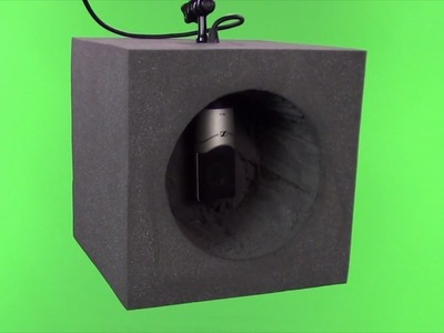 DIY Microphone Sound Vocal Audio Booth Under $20 - Reflection Filter Screen - Home Studio