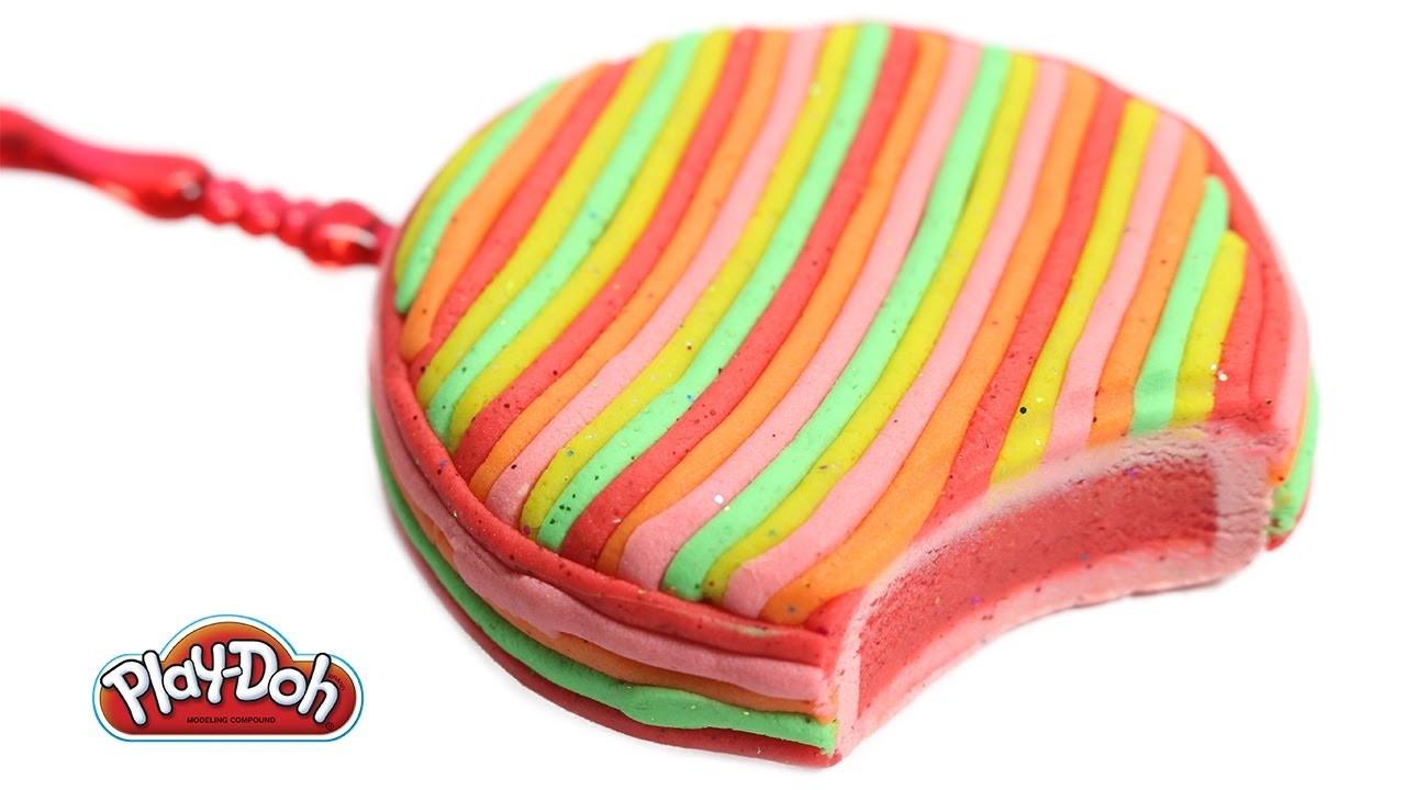 DIY Play Doh Ice Cream Maker Playdough Ice Cream - Cream Pie for Kids