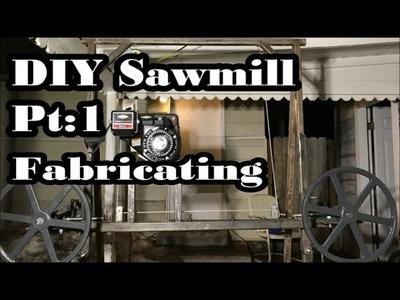 """DIY Sawmill Pt 1: Homemade, Cheap, Simple 36"""" Log."""