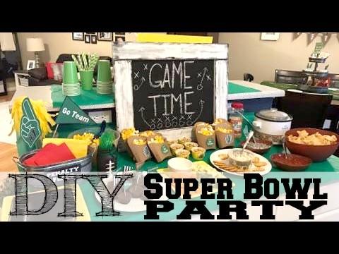 DIY Super Bowl Party