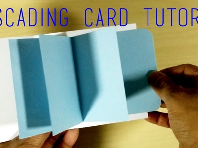 [DIY + Template] Easy Waterfall Card Tutorial