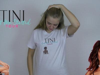 DIY - TINI Got me started tour t-shirt