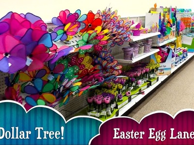 ????????????Dollar Tree Haul: Easter DIY's & Fun Walk Thru! Look at all the Easter at Dollar Tree
