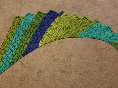 Dragon Wing Shawl Crochet Tutorial