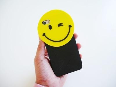 Easy DIY Smiley Face Cell Case