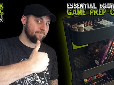 Essential Equipment: Game Prep Cart For Dungeon Masters (Black Magic Craft Episode 020)