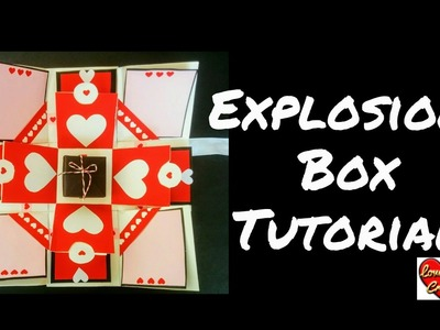 Explosion Box Tutorial | How to Make Explosion box