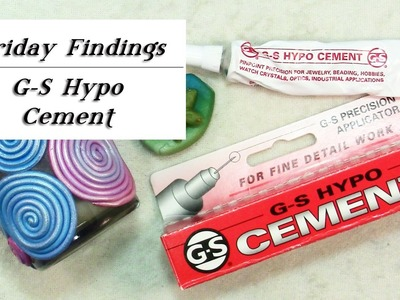 GS Hypo Cement Glue-Review and How To Use It-Friday Findings