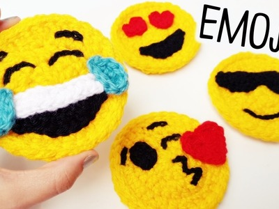 How to crochet EMOJIS ♥ CROCHET LOVERS