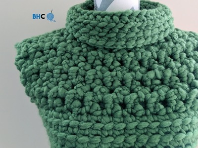 How to Crochet the Cobbled Crochet Vest