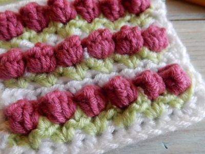 How to Crochet the Tulip Stitch (hdc variation)