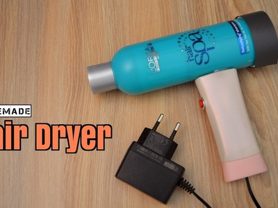 How to Make a Hair Dryer from Scrap - Homemade