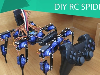How to Make A Remote Control Spider