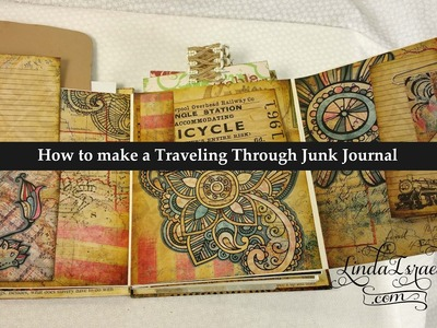 How to make a Traveling Through Junk Journal