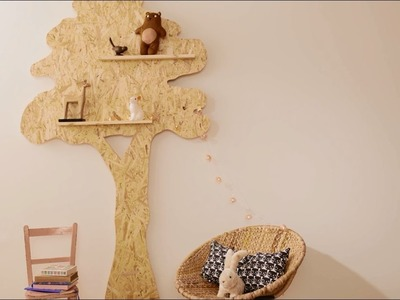 How to Make a Tree Bookcase