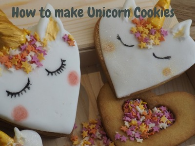 How to make a unicorn cookie