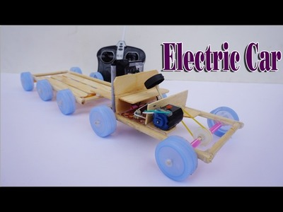 How To Make An Electric Car DIY With DC Motor - Life Hack Toy Car Very Easy