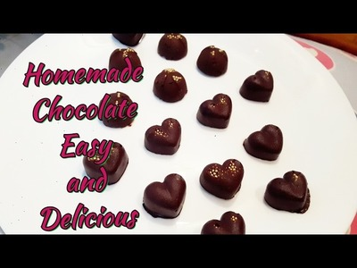 How to make chocolates at home | easy and simple method