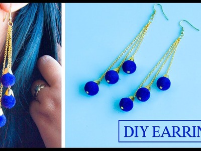 How to make earrings | DIY easy and simple earrings | A quick make your own earrings