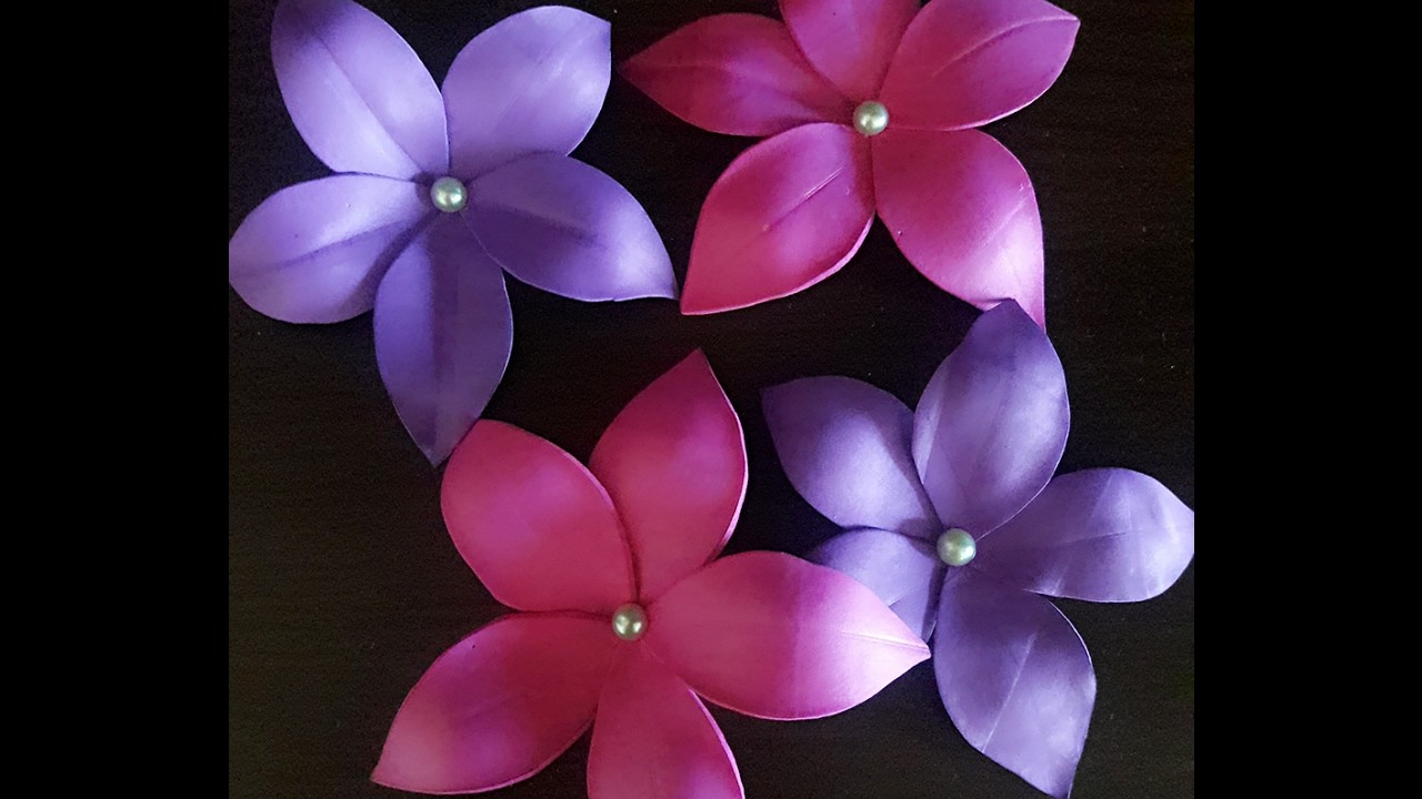 How To Make Flowers For Decor With Foam Sheet