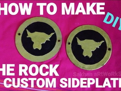 How To Make The Rock Custom Sideplates