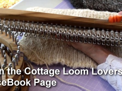 Loom Knitting How to Use a Dassenplank Knitting Board Cottage Looms Dassenplank  | Cottage Looms